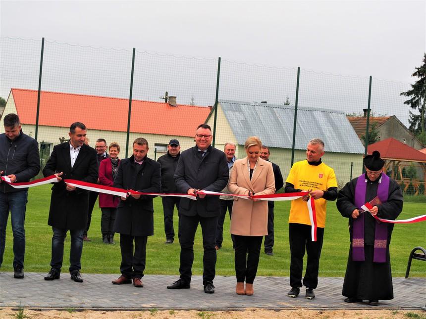 Galeria Otwarcie kompleksu sportowego w Stepnie Starej